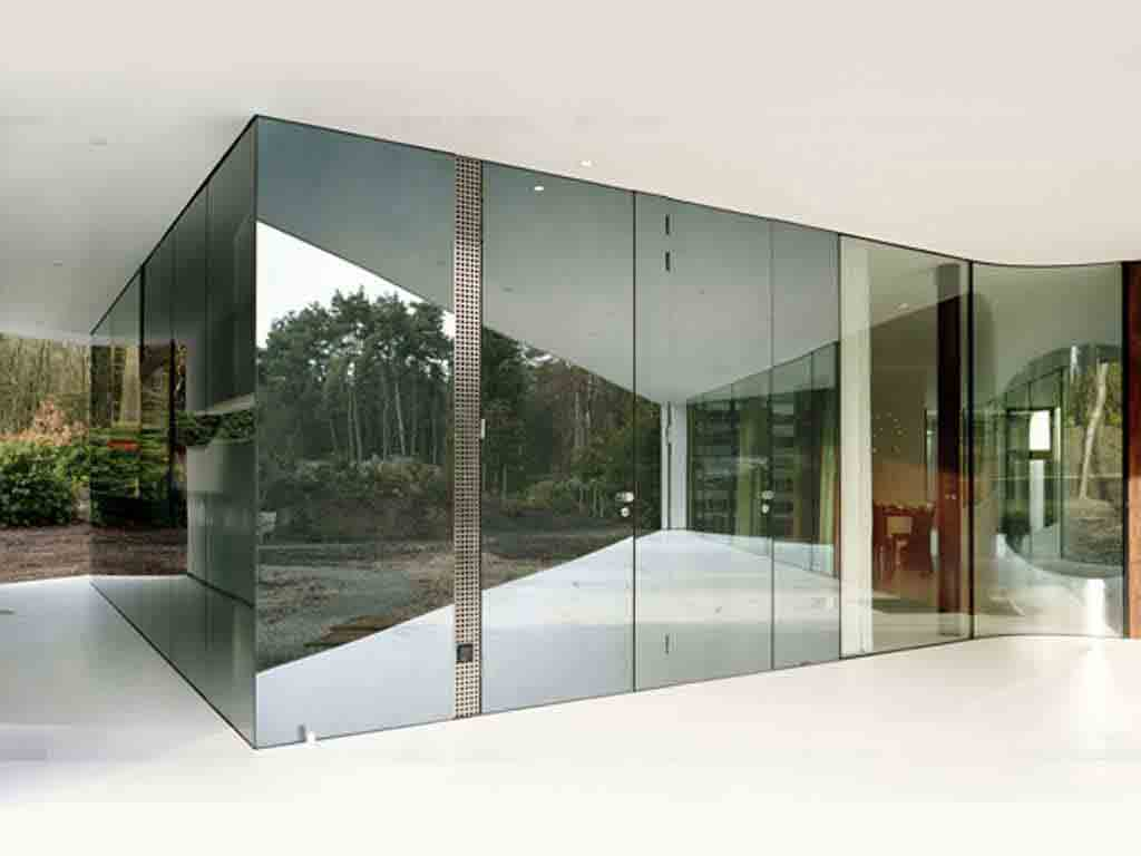 Reflective Gl Are Manufactured By Applying A Suitable Coating To The Back Side Of Glass This Also Provides One Way